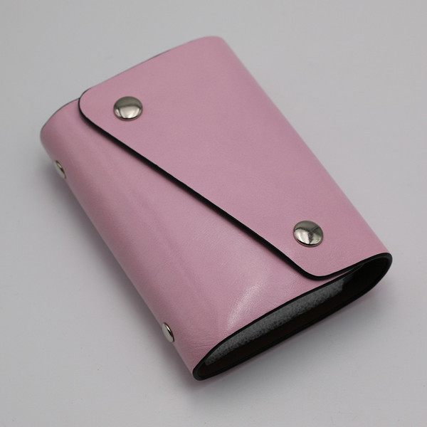 カードケース 20枚収納 全9色 磁気防止 レザー スリム カード入れ 男女兼用 kk1816|34618|09