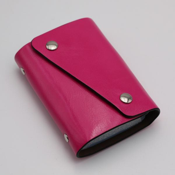 カードケース 20枚収納 全9色 磁気防止 レザー スリム カード入れ 男女兼用 kk1816|34618|08