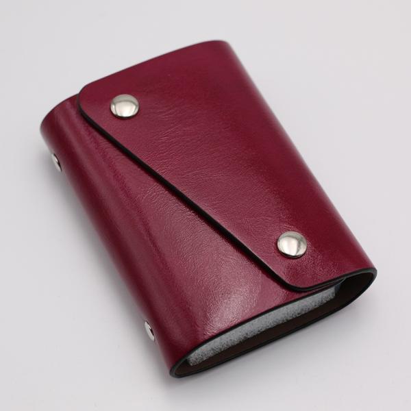 カードケース 20枚収納 全9色 磁気防止 レザー スリム カード入れ 男女兼用 kk1816|34618|11