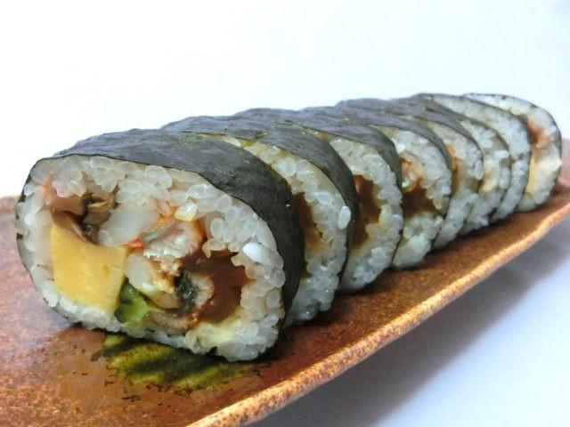 【特選うなぎ上巻き寿司】贅沢の極み・スタミナ満点