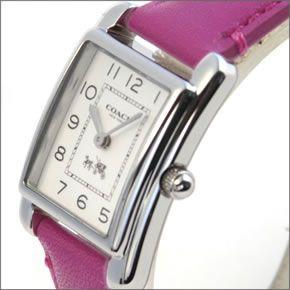 コーチ  柔らかな印象のフォルム☆上品な大人カジュアル・レディス腕時計 14502020