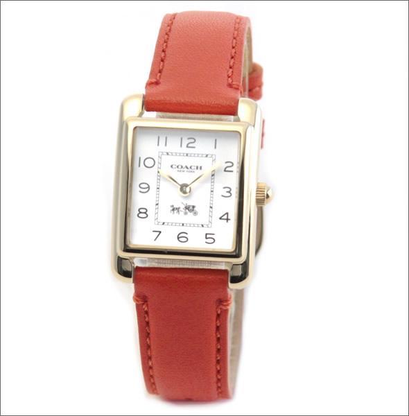 コーチ  柔らかな印象のフォルム☆上品な大人カジュアル・レディス腕時計 14502090