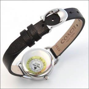 コーチ  柔らかな印象のフォルム☆小ぶりでキュートな大人カジュアル・レディス腕時計 14502115