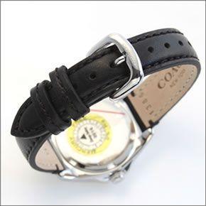 コーチ  煌びやかなラインストーンとホワイトシェルダイヤルの輝き。ラグジュアリーなレディス腕時計。 14502174