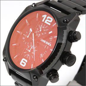 ディーゼル  メンズ 腕時計 人気のデカ系クロノグラフウオッチ  見る角度で色見が変化するホログラム・クリスタル。 DZ4316