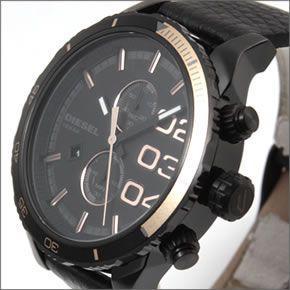 ディーゼル  メンズ 腕時計 人気のデカ系クロノグラフウオッチ  DZ4327