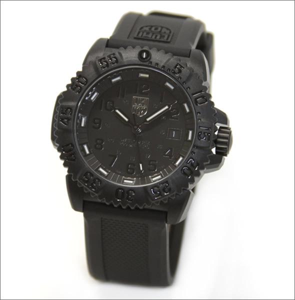 ルミノックス ブラックアウト・オールブラック仕様 NAVY SEALS COLOR MARK SERIES (ネイビーシールズ ダイブウォッチ・カラーマークシリーズ)3051.BO 3051.BLACK OUT