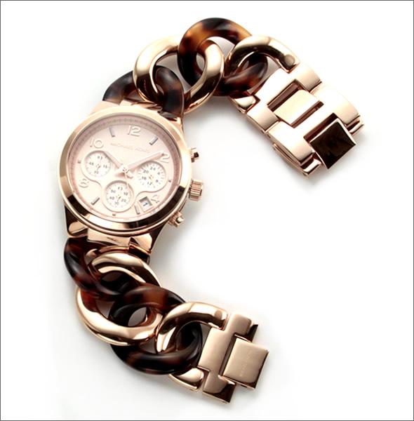 d96473bddad7 マイケルコース 腕時計 レディース MICHAEL KORS ピンクゴールドカラー ...