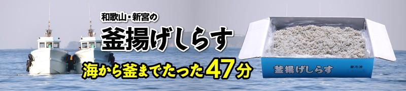 """""""和歌山・新宮の釜揚げしらす"""""""