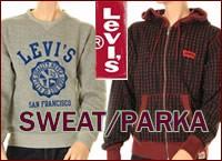 Levi's sweat parker