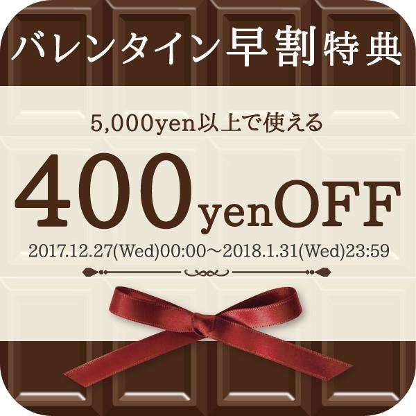 【早割】バレンタインクーポン≪400円OFF≫nanoTimeBeauty-Shop405