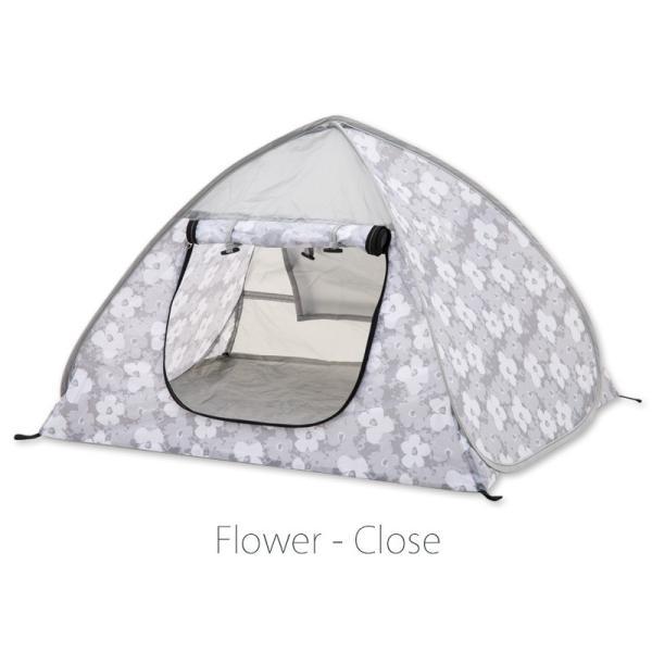 43DEGREES ペット用 テント ワンタッチ サンシェード  ポップアップテント  マット 日よけ 散歩 ケージ 4ss 18