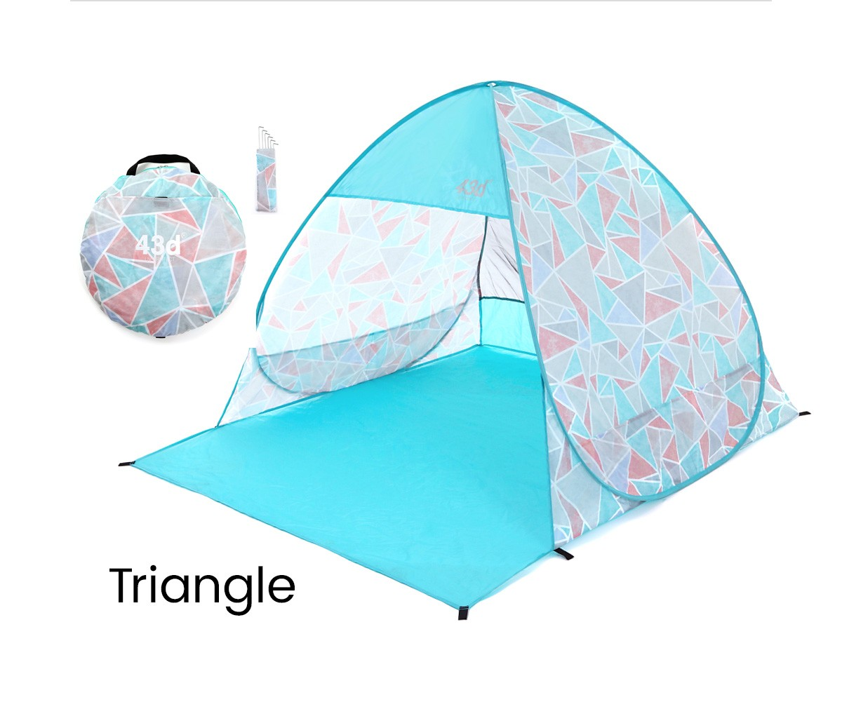 Triangle 43DEGREES ワンタッチテント