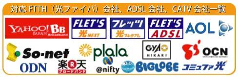 ADSL、FTTH対応LANケーブル