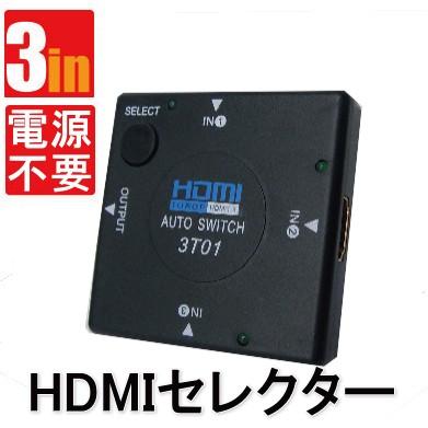HDMIスイッチング3ポート