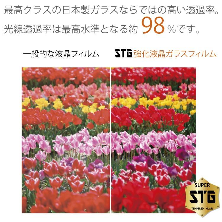 透過率98%iphone7ガラスフィルム