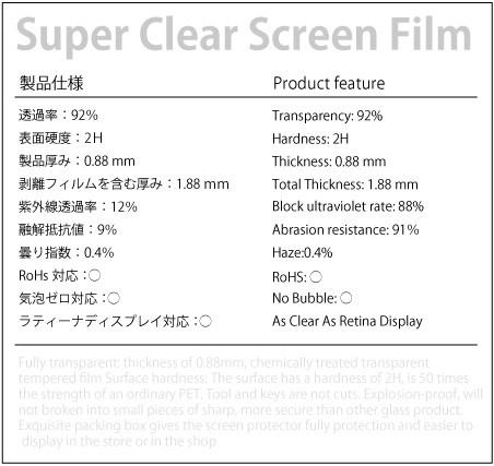iPhone6plusアンチグレアフィルム仕様書