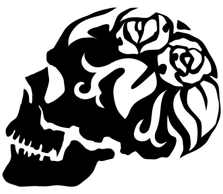 薔薇スカル