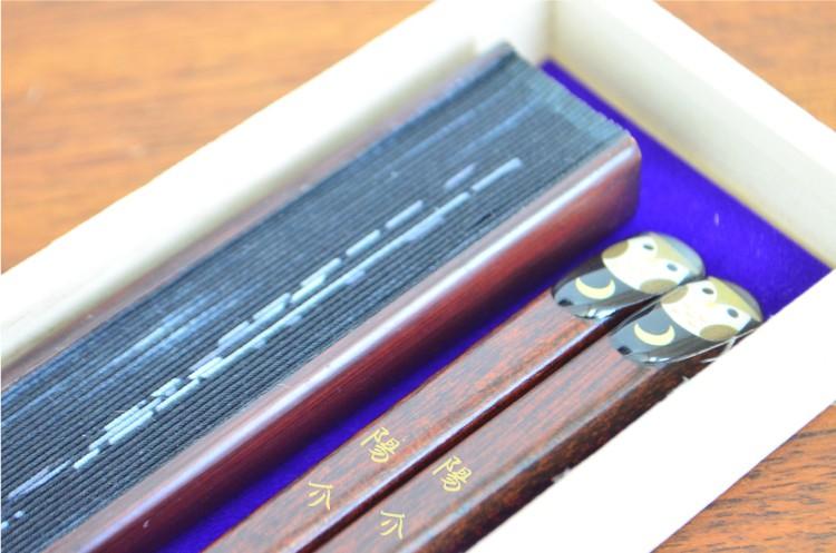 扇子と箸のセット