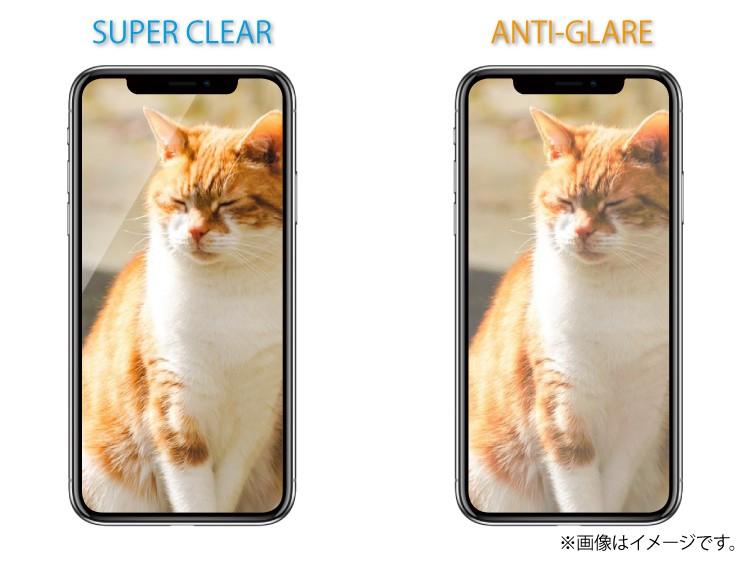 iPhoneXスーパークリア・アンチグレア見本