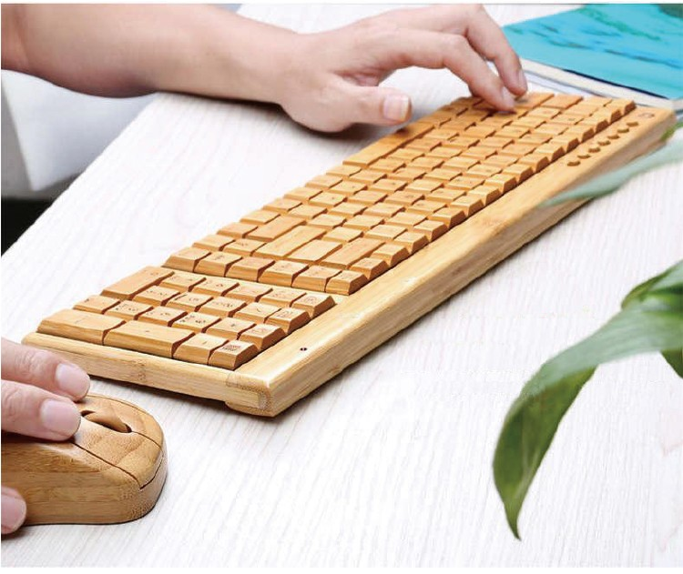 竹製マウス・キーボード