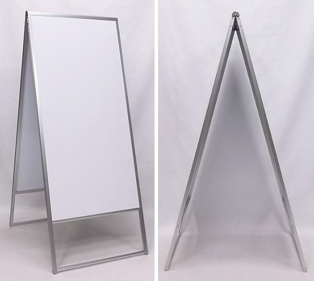 アルミ枠A型スタンド看板(L)写真