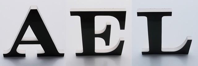 立体文字写真