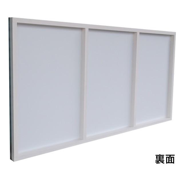 木枠看板91cm×182cm裏面