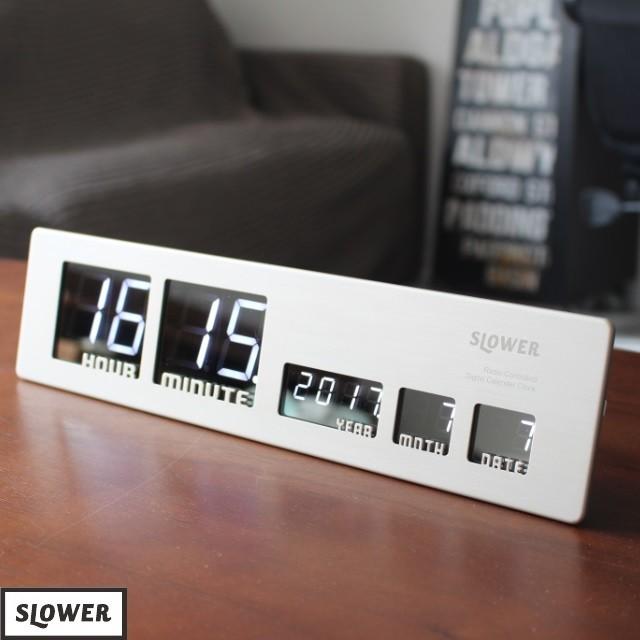 LEDデジタルクロック アスカリ Ascari ascari 電波時計 置時計 掛け時計