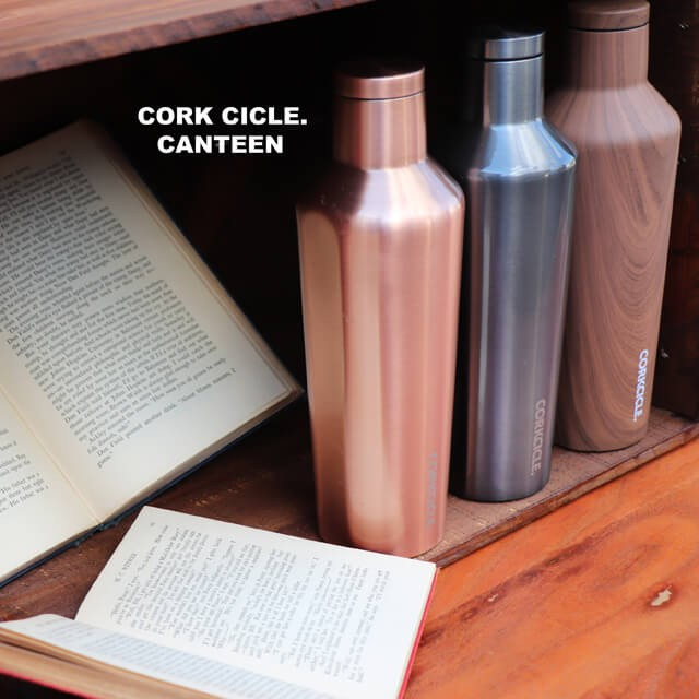 CORKCICLE CANTEENコークシクルキャンティーン 水筒 おしゃれ ボトル270ml 保温12時間保冷25時間