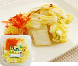 スーパー白菜 白菜の浅漬け