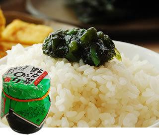 ホソヅケおすすめの海苔の佃煮 野沢菜