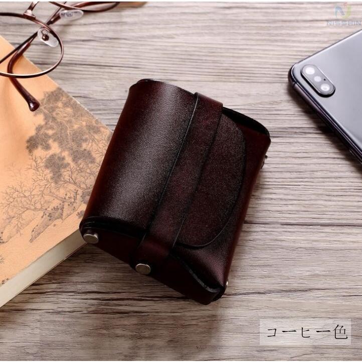 コインケース 小銭入れ メンズ レディース 本革 牛革 カード入れ カードケース コンパクト 長持ち 収納ケース|8787-store|17