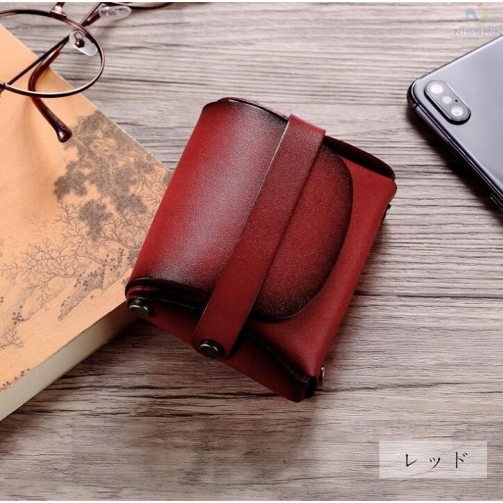 コインケース 小銭入れ メンズ レディース 本革 牛革 カード入れ カードケース コンパクト 長持ち 収納ケース|8787-store|15