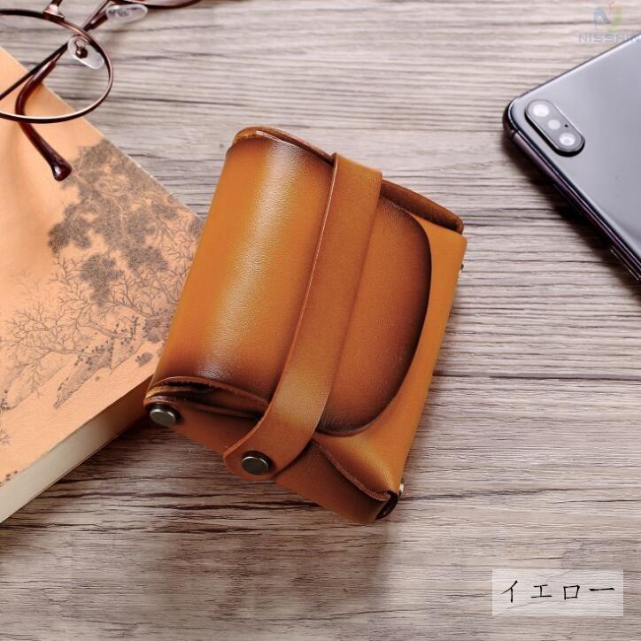 コインケース 小銭入れ メンズ レディース 本革 牛革 カード入れ カードケース コンパクト 長持ち 収納ケース|8787-store|14