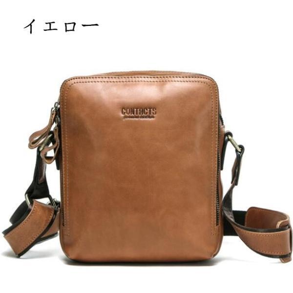 バッグ メンズ ショルダーバッグ ビジネスバッグ メッセンジャーバッグ 本革 メンズバッグ 牛革  斜めがけ バッグ 鞄 メンズ鞄 斜めがけ おしゃれ|8787-store|20