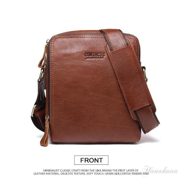 バッグ メンズ ショルダーバッグ ビジネスバッグ メッセンジャーバッグ 本革 メンズバッグ 牛革  斜めがけ バッグ 鞄 メンズ鞄 斜めがけ おしゃれ|8787-store|18