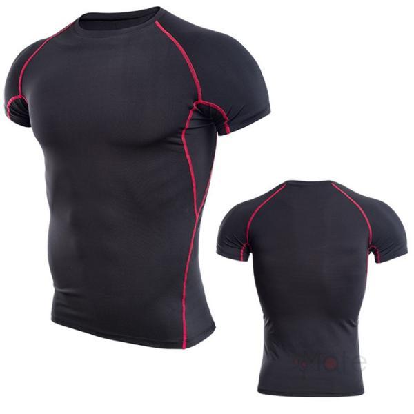 コンプレッションウェア 半袖 メンズ Tシャツ スポーツウェア スポーツシャツ 夏 インナー 加圧シャツ アンダー トレーニングウェア セール|99mate|24