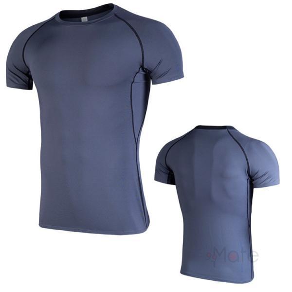 コンプレッションウェア 半袖 メンズ Tシャツ スポーツウェア スポーツシャツ 夏 インナー 加圧シャツ アンダー トレーニングウェア セール|99mate|20