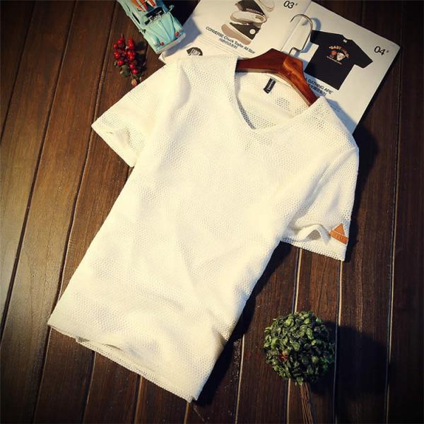 カジュアルTシャツ メンズ 半袖 Tシャツ ティーシャツ 無地 半袖Tシャツ Vネック かっこいい 夏新作 送料無料|99mate|14