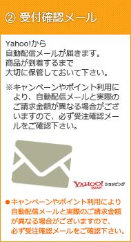 2.受付確認メール