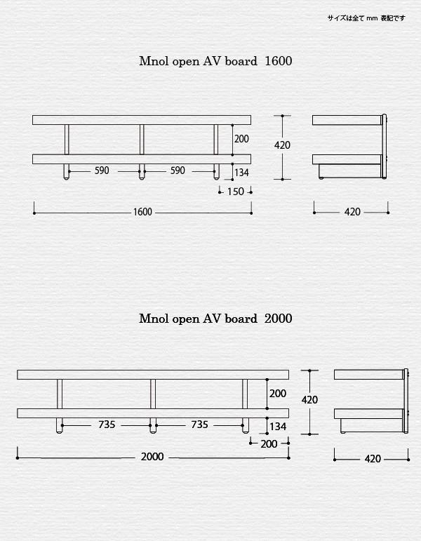 ムノル オープン AV ボード