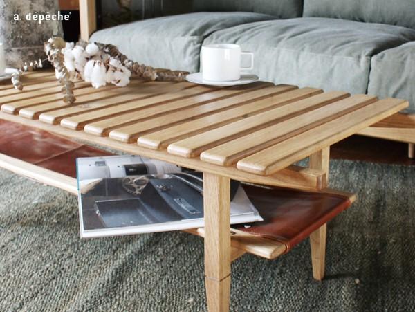 ソロ スラット コーヒー テーブル