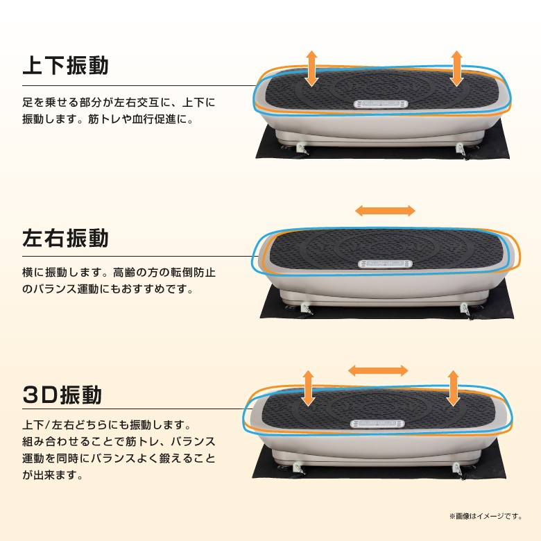 3D振動マシン バランスウェーブ/FAV3017_04
