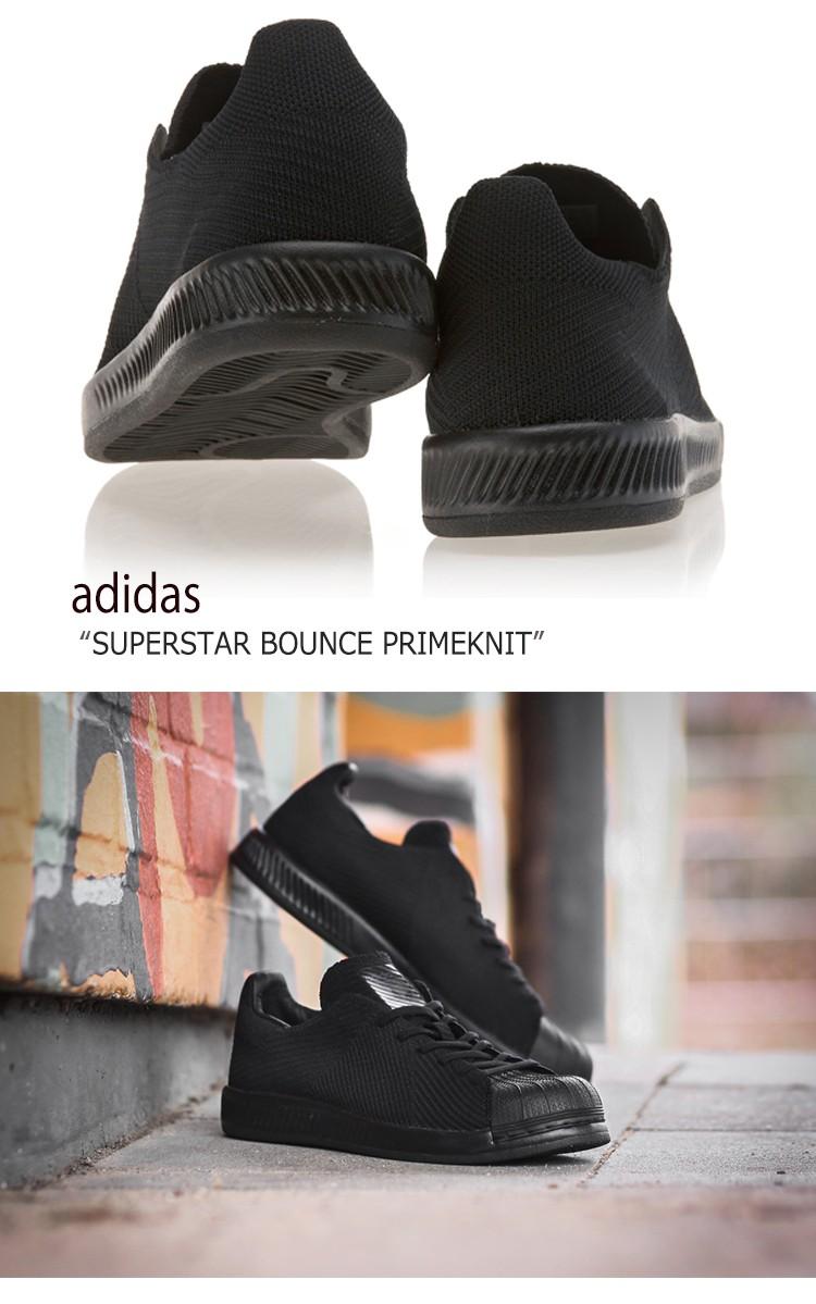 adidas SUPERSTAR BOUNCE PRIMEKNIT Core