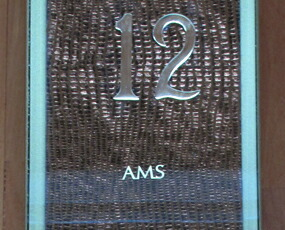 【期間限定27%OFF!】 【 国内在庫 即納 】ドイツ AMSエイエムエス社製 ガラスカーブ時計 9417 (YM-AMS9417)