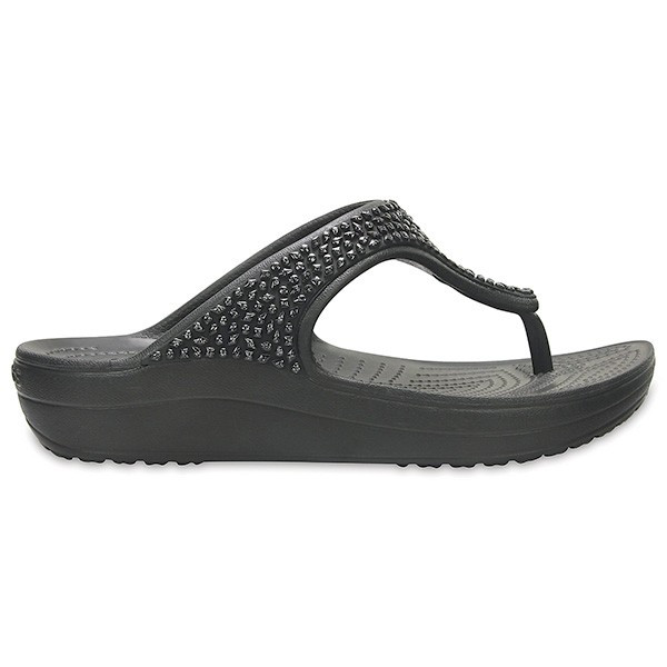 クロックス スローン エンベリッシュド フリップ ウィメン crocs sloane embellished flip w/在庫処分 店頭戻り品|a-outlet|08