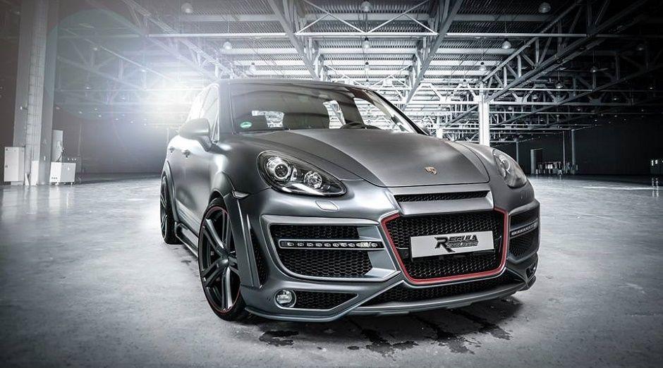 ポルシェ カイエン用 エアロパーツ Porsche Cayenne Aeroparts fullset01