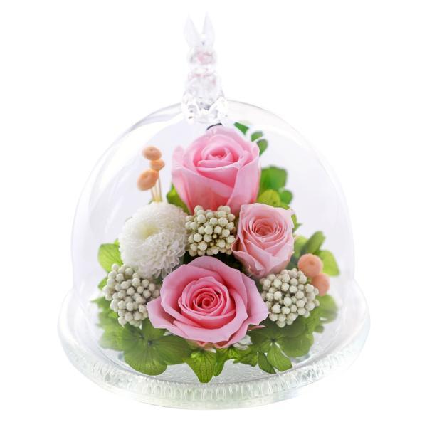 うさぎプリザ ホワイトデー Whiteday 2019 退職祝い 還暦祝い 女性 結婚記念日 プレゼント プリザーブドフラワー 誕生日プレゼント バラ 結婚祝い 贈り物|a4s|13