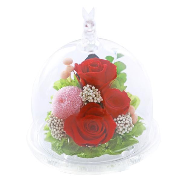 うさぎプリザ ホワイトデー Whiteday 2019 退職祝い 還暦祝い 女性 結婚記念日 プレゼント プリザーブドフラワー 誕生日プレゼント バラ 結婚祝い 贈り物|a4s|11